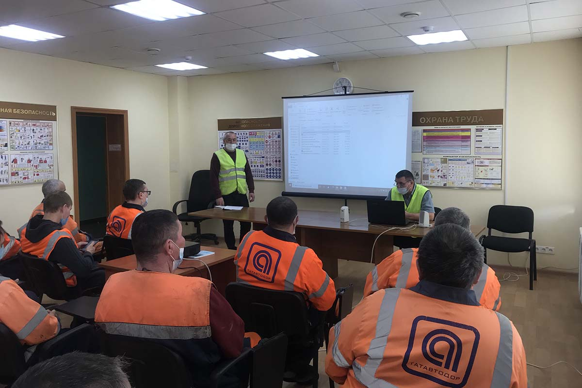 Qualification Improvement: Training for car drivers and operators of road construction machines